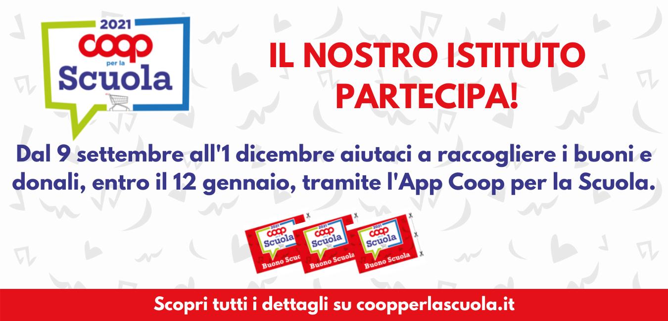 banner raccolta punti coopperlascuola.it